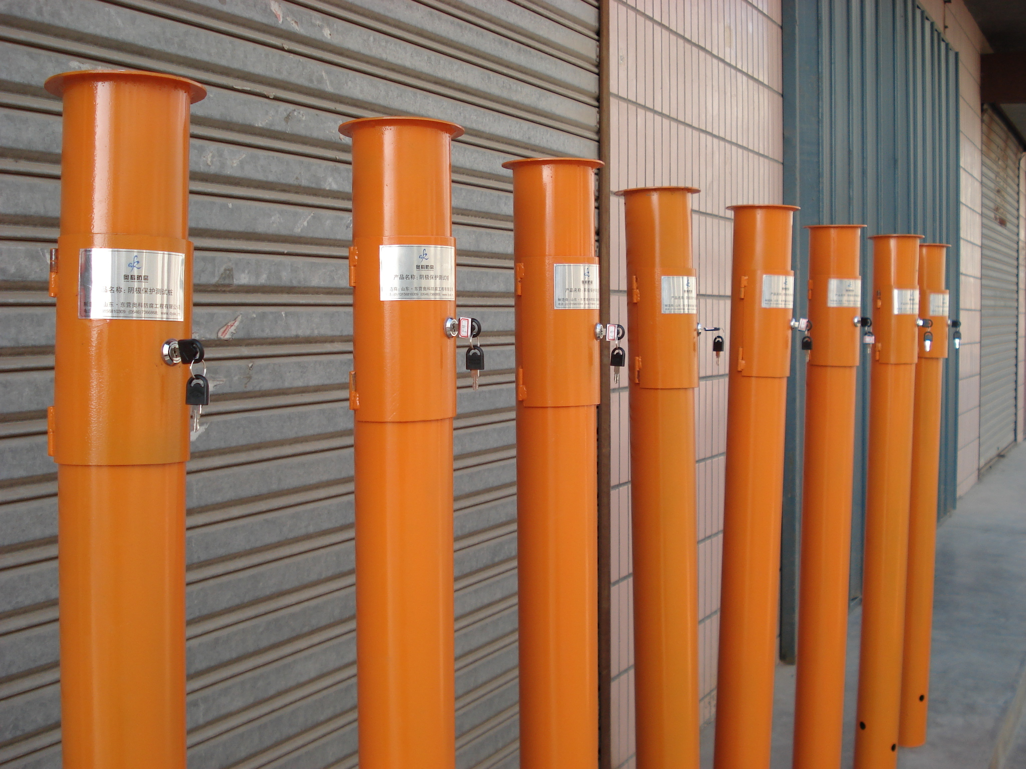 测试桩中的测试接线板是桩的核心,其测试功能就是根据接线板上的接线